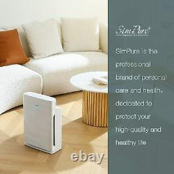 Home True HEPA Air Purifier Large Room Air Cleaner for Allergies Smoke Mold Odor