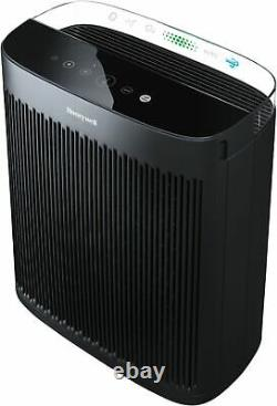 Honeywell InsightTM HPA5300B 500 Sq. Ft. HEPA Air Purifier, Black Black
