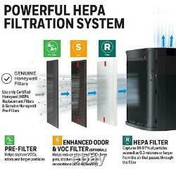 Honeywell PowerPlus True HEPA 530 sq. Ft. Allergen Remover/Air Purifier
