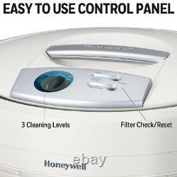 Honeywell True HEPA Air Purifier 50250-S Remove Allergens Dust Smoke NEW White