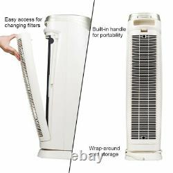 Hunter HEPA+ Air Purifier Model HT1701 with ViRo-Silver Technology Champagne/White