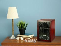 Ivation 5-in-1 HEPA Air Purifier & Ozone Generator, Ionizer & Deodorizer for Up