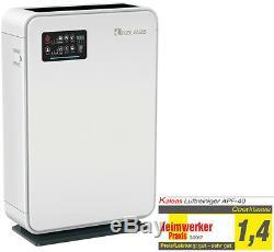 Kaleas APF-40 Air Purifier Luftreiniger Ionisierer mit Aktivkohle- + HEPA-Filter