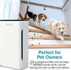 Large Room Air Purifier Home Medical HEPA Air Cleaner Allergies Odor Eliminator
