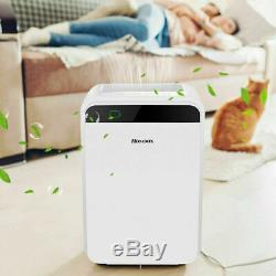 Large Room Air Purifier Office Air Cleaner HEPA Filter Remove Odor Dust Mold US