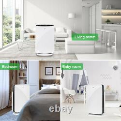 Large Room Air Purifiers HEPA Home Air Purifier325m3/hCleaner for Allergies