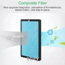 Large Room Air Purifiers HEPA Home Indoor Air Cleaner Purifier Allergies Remote