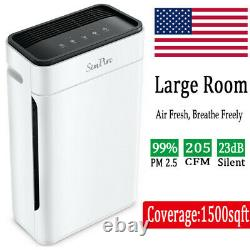 Large Room Air Purifiers Mdeical Grade HEPA Home Air Cleaner for Allergies Smoke