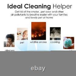 Large Room Air Purifiers for Allergies Air Cleaner Medical True H13 HEPA Filter