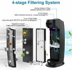 Lavieair True HEPA Air Purifier & Ioniser with UV-C Sanitizer Eliminates viruses