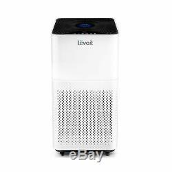 Levoit Air Purifier Home Large Room True HEPA Quiet Odor Eliminator LVH135 White
