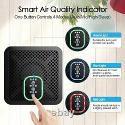 Luftreiniger Ionisator Hepa Filter Raumluftreiniger Air Purifier, Timer 4 Stufen