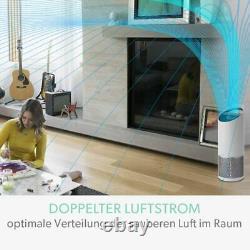 Luftreiniger Ionisator Hepa Filter Raumluftreiniger Air Purifier mit SensorPod