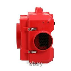 MOUNTO 500cfm Portable Air Scrubber Negative Hepa Air Purifier for hospital