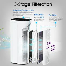 MS Air Purifier for Home Large Room with H13 True HEPA Filter, Air Cleaner Dust