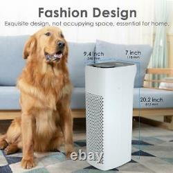 MS18 Large Room Air Purifier True HEPA Filter Cleaner for Allergy Smoke Dust Pet