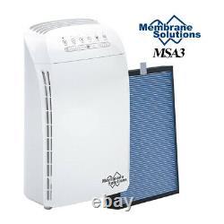 MSA3 Air Purifier for Large Room H13True HEPA Air Cleaner Filter Odor Eliminator
