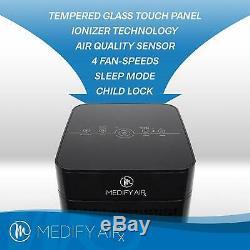 Medify MA-40 Medical Grade H13 True HEPA Black With New Filter Refurbished