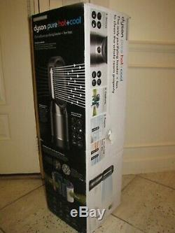 NEW DYSON Pure Hot + Cool HP04 HEPA Air Purifier and Tower Fan Black & Nickel