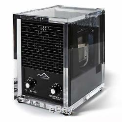 New Comfort CA3500 Acrylic Washable HEPA Air Purifier Black