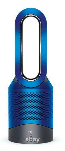 New Dyson Pure Hot+Cool HP01 Air Purifier Heater & Fan Iron/Blue Box Missing