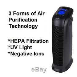 New Ionmax ION390 Ionic UV HEPA Air Purifier Home Office Remove Smoke Odour Dust