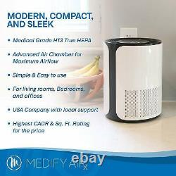 New! Medify MA-18 Medical Grade H13 True HEPA Purifier With New Filter