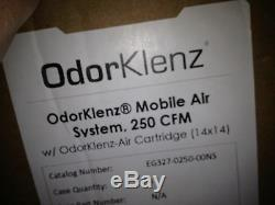 OdorKlenz Mobile Air filtrarion System, 250 CFM with OdorKlenz-Air Cartridge