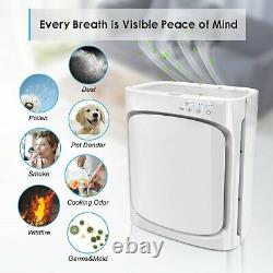 Oregon Powerful Air Purifier Cleaner with True HEPA Filter for Home Allergies Pet