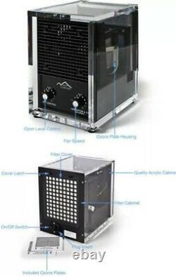 Ozone Generator Air Purifier Cleaner HEPA UV New Comfort 6 Stage