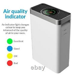 PM2.5 5 stage HEPA Air Purifier with Air Quality Sensor and Time EAP260HC-PM2.5