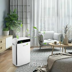 Pro Hepa Filter Air Purifier Large Room Fresh Air Cleaner Car Home Office