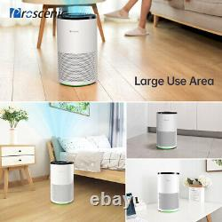 Proscenic A8 Air Purifier WithTrue HEPA Filter Home Allergies Smoke Dust Air Clean