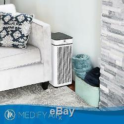Refurbished Medify MA-40 Medical Grade H13 True HEPA White-Includes New Filter