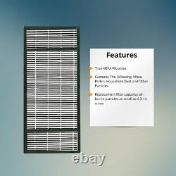 Replacement For HRF- H2/Type H Fits Honeywell Air Purifier HEPA Filter-2 Filters