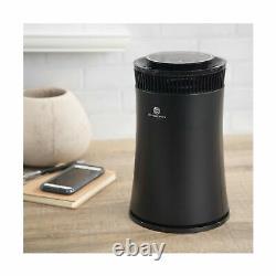 SilverOnyx Air Purifier H13 True HEPA Filter Cleaner UV Light 5 Speed Black New