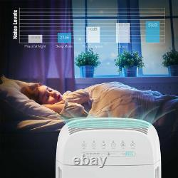 Smart HEPA Air Purifier, 5-in-1Large Room Air Cleaner&Deodorizer1500SqFt Coverage