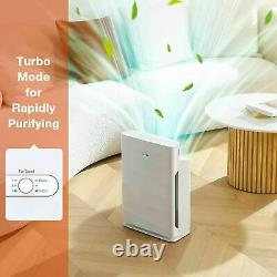 True HEPA Air Purifiers Home Large Room Air Cleaner for Allergies Smoker Mold US