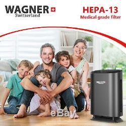 WAGNER Switzerland Air Purifier WA888 HEPA 13 Medical Grade Filter