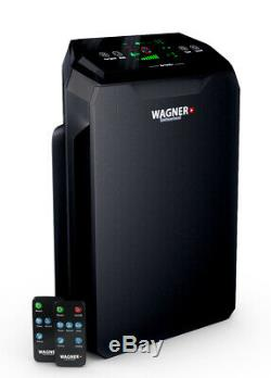 WAGNER Switzerland Premium Air Purifier WA777 HEPA-13 for Room up to 500sq. Ft