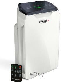 WAGNER Switzerland Premium Air Purifier WA777 for Room up to 500sq. Ft TRUE HEPA