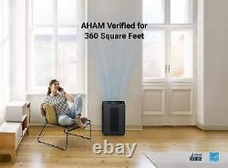 Winix 5500-2 Air Purifier with True HEPA PlasmaWave Washable AOC Carbon Filter