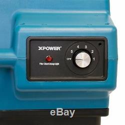 XPOWER X-3580 Industrial HEPA+Active Carbon Fire Smoke Air Scrubber Air Purifier