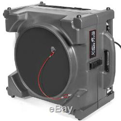 1 / 4hp Machine Aérien Commercial Hepa Industriel Négatif Scrubber Purificateur 2-etape