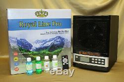 2020 Royal Hepa Purificateur D'air 2 Uv Anti Virus Ozone Ion Nettoyant De Luxe Noir