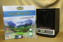 2020 Royal Hepa Purificateur D'air Fresh 2 Uv Anti Virus Ozone Nettoyant De Luxe Noir