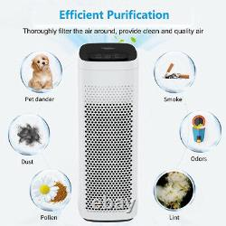 2xsmart Air Purifier Grande Chambre 825ft2, Filtration 3stage Supprimer 99.99%odor/smoke