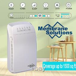 5-in-1 Purificateur D'air Hepa Cleaner Filtre Pour Grande Maison Allergies De Fumée
