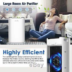 5stage Purificateur D'air Hepa Filtre Odeur Allergies Cleaner Eliminator Grande Chambre