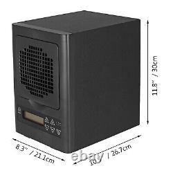 6 Scène Générateur D'ozone Hepa Purificateur D'air 600mg/h Ioniseur Ampoule Uv Avec Télécommande
